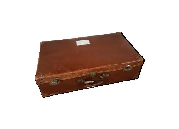 Ancienne valise en cuir