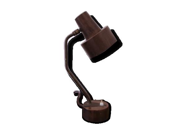 Petite lampe de bureau cuivrée