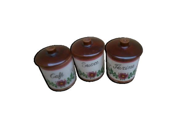 3 pots à épices