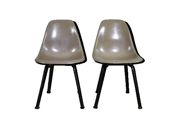 Chaises DSX originale de Charles et Ray Eames pour Herman Miller années 60