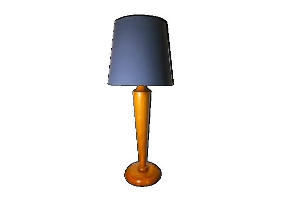 Lampe de bureau en bois années 50/60