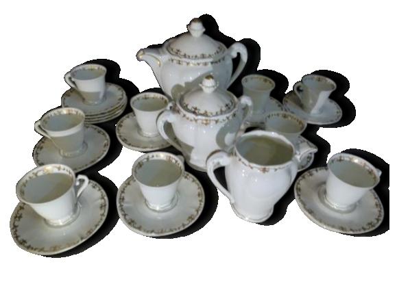 Service à café porcelaine Limoges