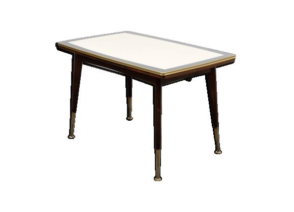 table salle manger vintage ann es 50 le fait main. Black Bedroom Furniture Sets. Home Design Ideas
