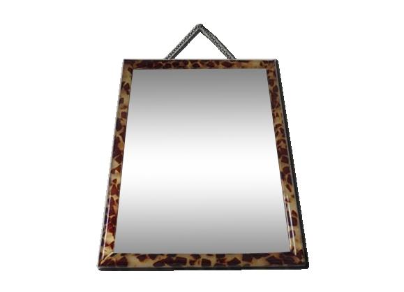 Miroir à chainette années 50-60