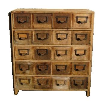 Meuble de m tier comptoir tabli vintage d 39 occasion - Meuble atelier occasion ...
