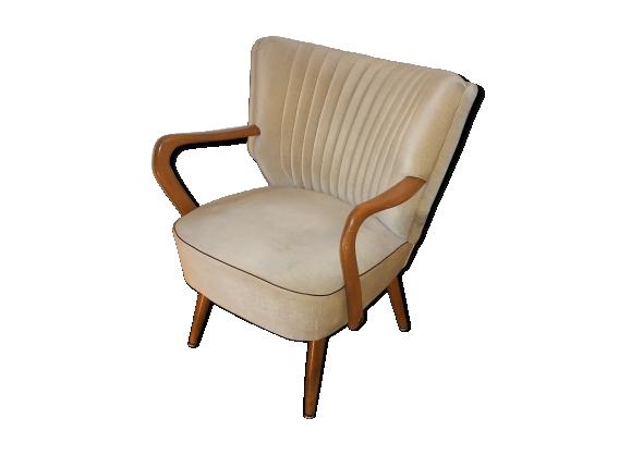 fauteuil vintage scandinave. Black Bedroom Furniture Sets. Home Design Ideas