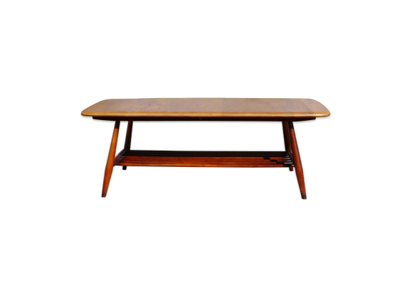 Table basse ercol design scandinave bois mat riau for Table basse scandinave couleur
