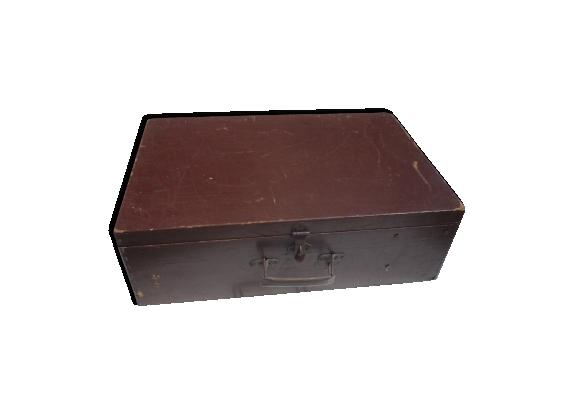 Valise en bois ancienne