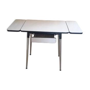 Table en formica vintage d 39 occasion for Table de cuisine des annees 50