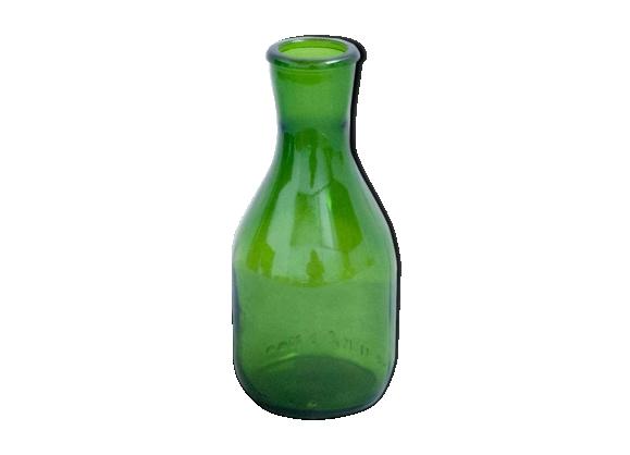 Pichet en verre vert vintage 25cl