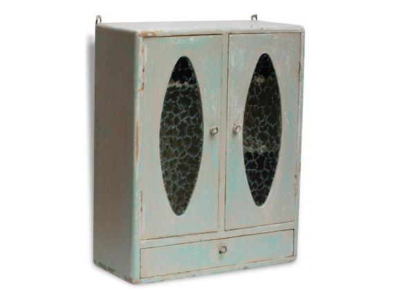 Armoire de toilette en bois shabby chic