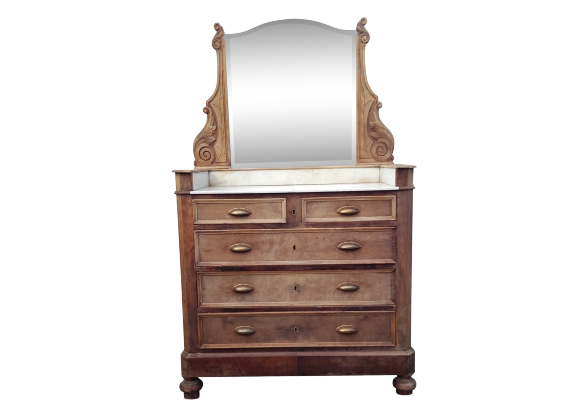 commode coiffeuse ancienne. Black Bedroom Furniture Sets. Home Design Ideas