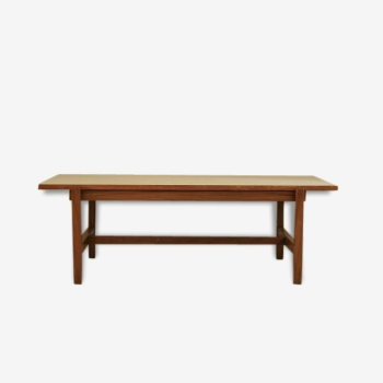 Mid-Century Coffee Table with Reversible Top by Cees Braakman for Pastoe