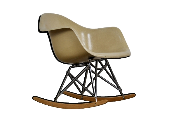 Rocking chair RAR par Charles et Ray Eames pour Herman Miller, 1960