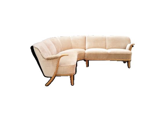 Canapé d'angle scandinave des années 50/60