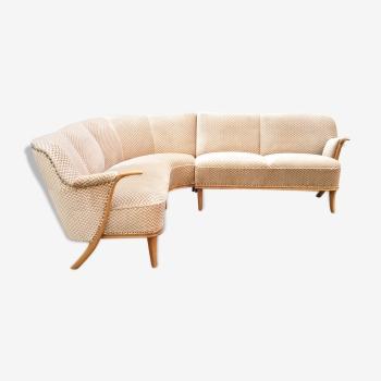 Canapé d'angle sofa corner danois scandinave années 50 60