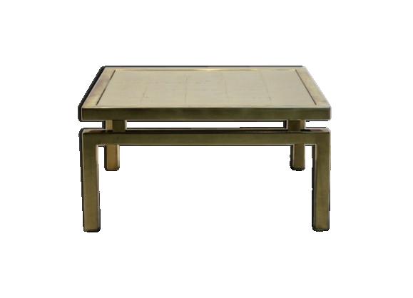 table basse gold etched m tal dor bon tat art d co b7962c4bdd5c32eca808eb02d532e03a. Black Bedroom Furniture Sets. Home Design Ideas