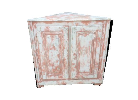 meuble de coin industriel bois mat riau rose dans son jus industriel. Black Bedroom Furniture Sets. Home Design Ideas
