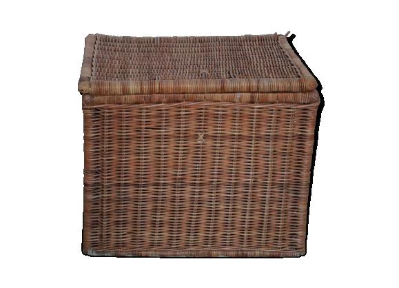 coffre osier achat vente de coffre pas cher. Black Bedroom Furniture Sets. Home Design Ideas