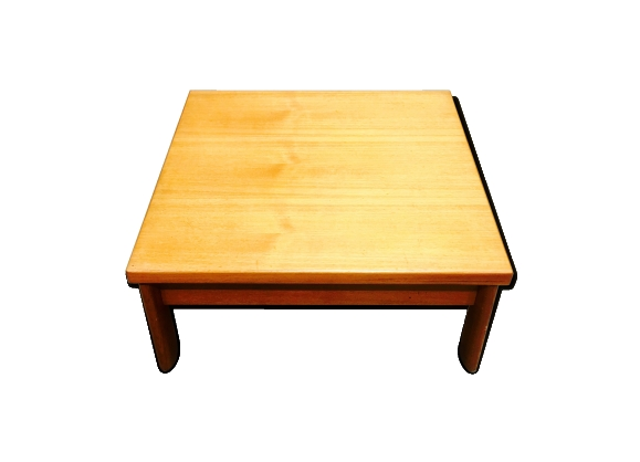 Table basse teck design scandinave