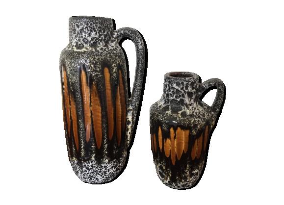 Vase ceramique West Germany Scheurich Année 50-60