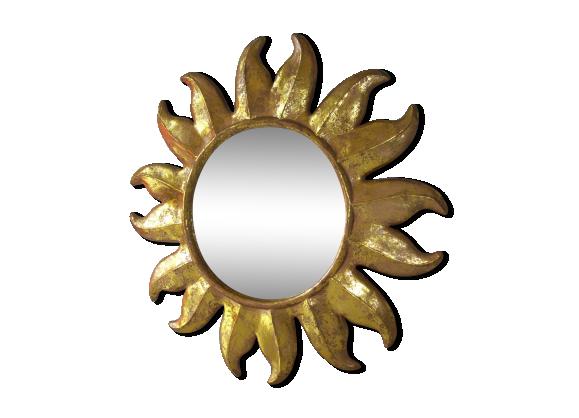 Miroir soleil ann es 70 bak lite dor bon tat for Miroir annee 70