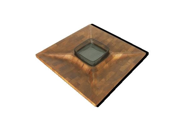 table plateaux massif. Black Bedroom Furniture Sets. Home Design Ideas