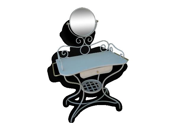 Bureau laqu achat vente de bureau pas cher - Coiffeuse en fer forge ...