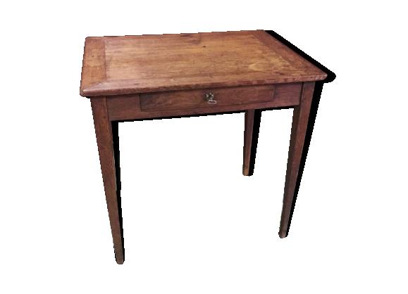 table bureau xix me bois mat riau bois couleur bon tat classique. Black Bedroom Furniture Sets. Home Design Ideas