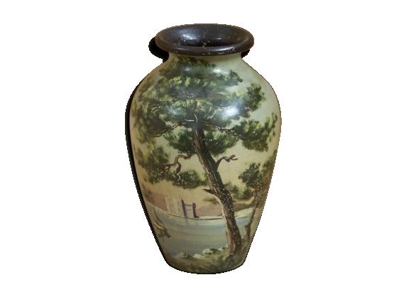 Vase en porcelaine de Vallauris