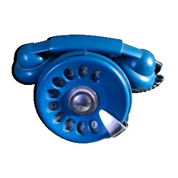 Bobo phone bleu by Sergio Todeschini pour Telcer Italy