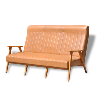 Canapé trois places années 50