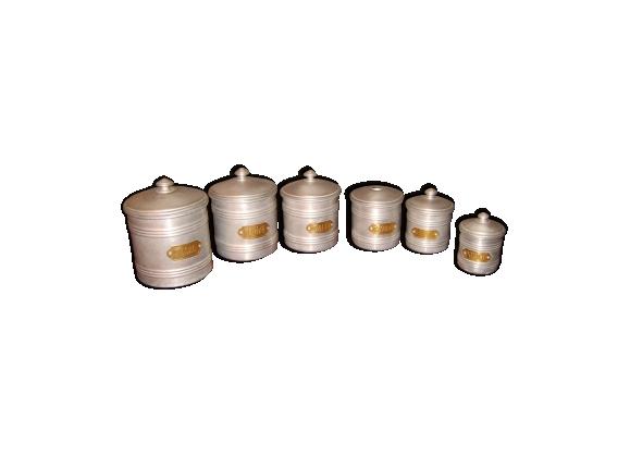 Ensemble de 6 pots à épices