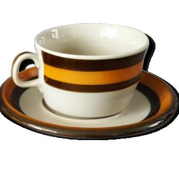 Tasse A Cafe Emaux Longwy