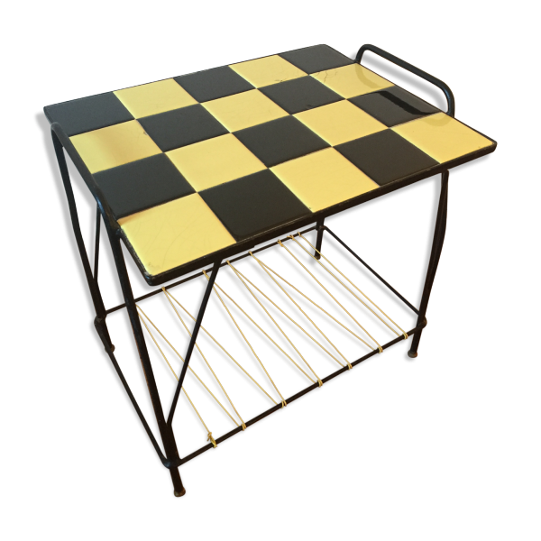 table basse c ramique liens scoubidou c ramique porcelaine fa ence jaune dans son jus. Black Bedroom Furniture Sets. Home Design Ideas