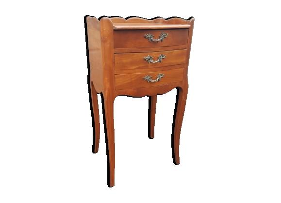 Table de chevet vintage style Louis XV