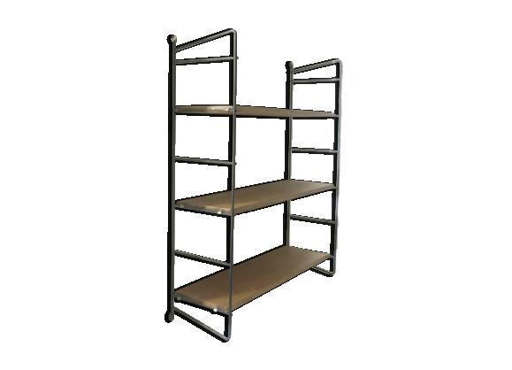 etag re string bois mat riau bois couleur bon tat vintage. Black Bedroom Furniture Sets. Home Design Ideas