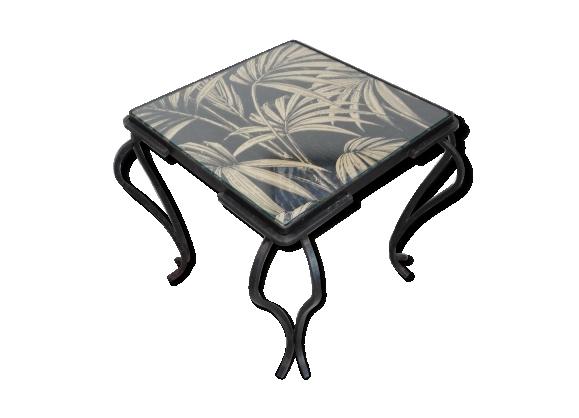 Table fer forg - Petite table en fer forge ...