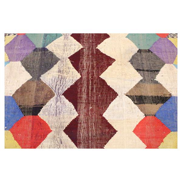 tapis berb re kilim 250x140cm tissu multicolore bon. Black Bedroom Furniture Sets. Home Design Ideas