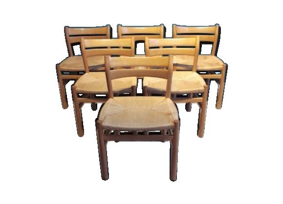 Chaises de salon bm1 par borge mogensen pour cm madsen for Chaise pour salon