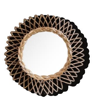Miroir soleil oeil de sorci re vintage chaty vallauris for Miroir chaty vallauris prix