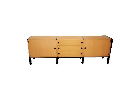 enfilade ann es 50 bois mat riau bois couleur bon tat vintage. Black Bedroom Furniture Sets. Home Design Ideas