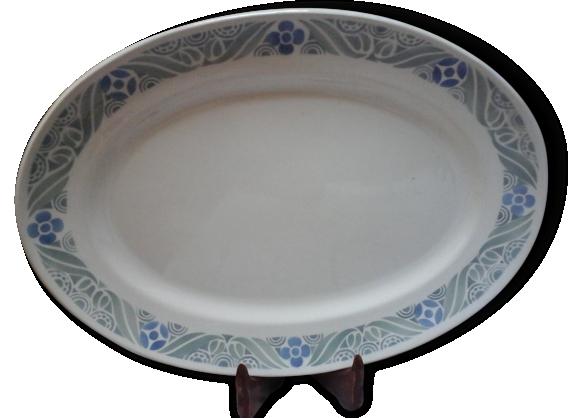 Plat ovale, Pastel HBCM