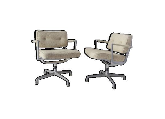 Paire de fauteuils de Charles & Ray Eames édition Mobilier International 1958