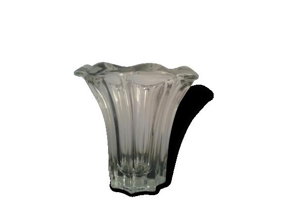 Joli vase en cristal Art Déco P. D'Avesn