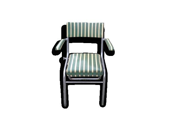 fauteuil coiffeur vintage ann e 40 50 le fait main. Black Bedroom Furniture Sets. Home Design Ideas