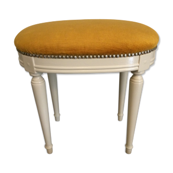 tabouret pouf ottoman vintage d 39 occasion. Black Bedroom Furniture Sets. Home Design Ideas
