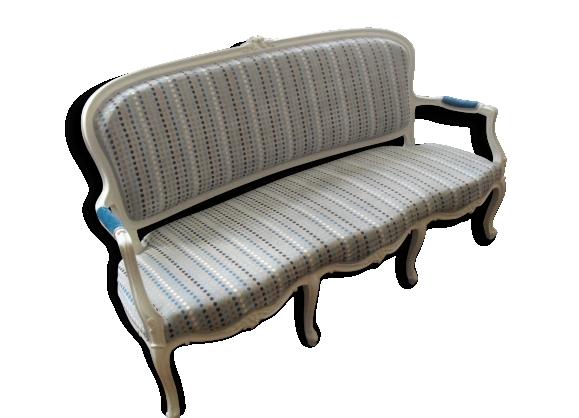 Canapé 3 places de style louis xv