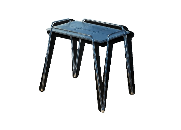 Table fer forg - Table d appoint fer forge ...