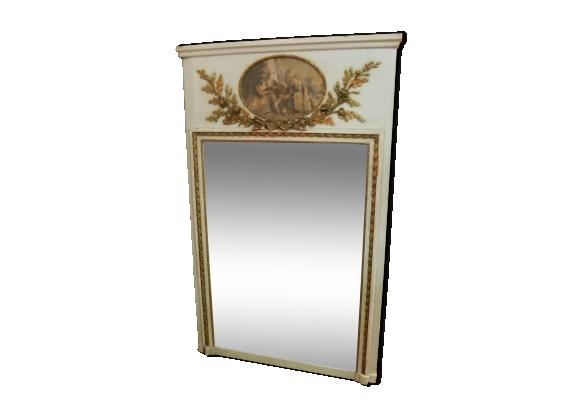 Miroir bois patin for Miroir des 7 astres